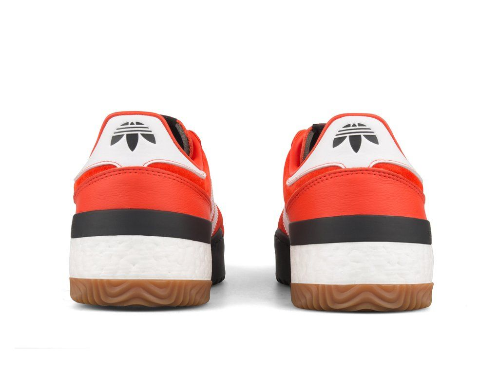 6b2aa1df7dfa Adidas x Alexander Wang AW BBALL SOCCER Bold Orange White Core Black