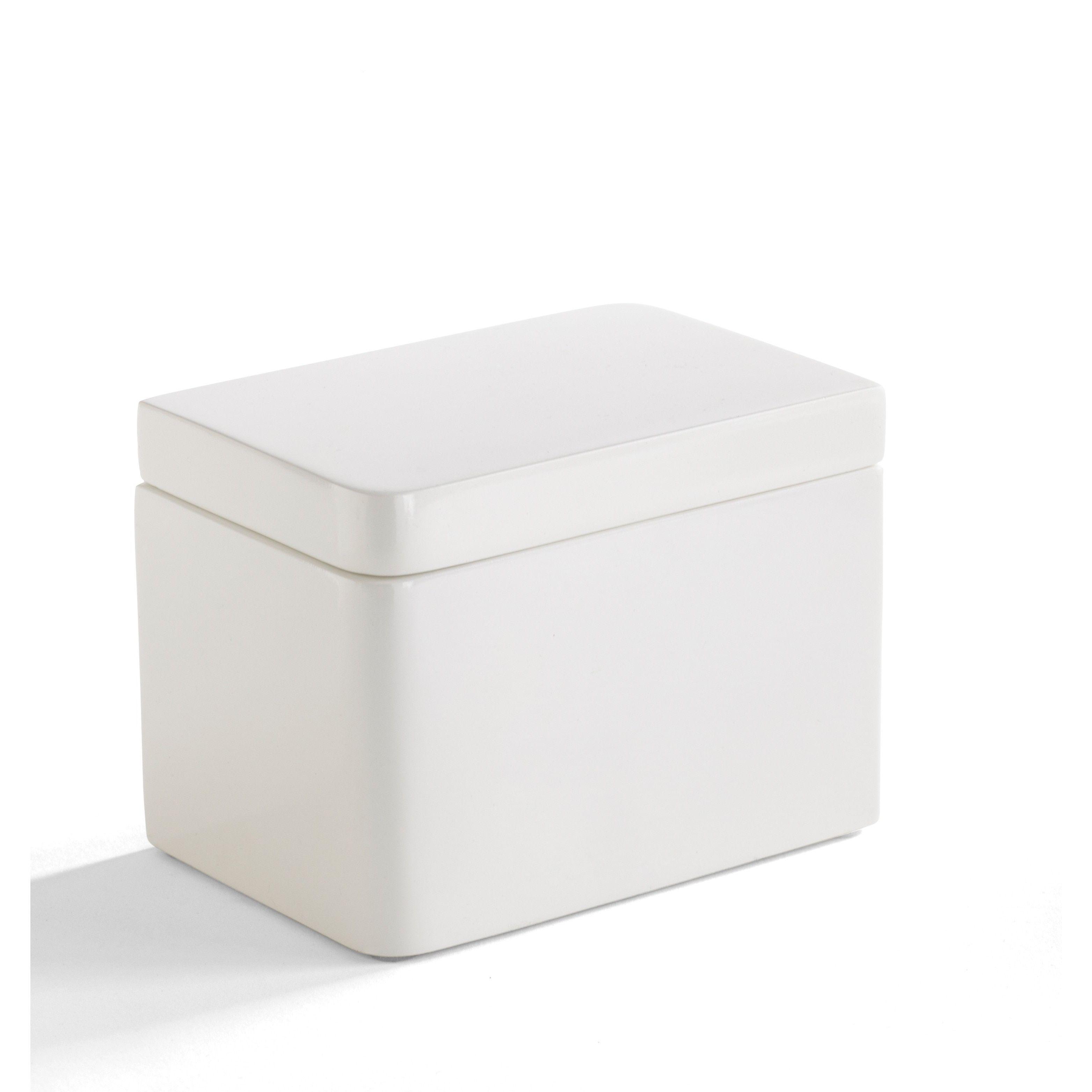 Solid Lacquer White Bath Accessory Collection (Lotion Dispenser ...