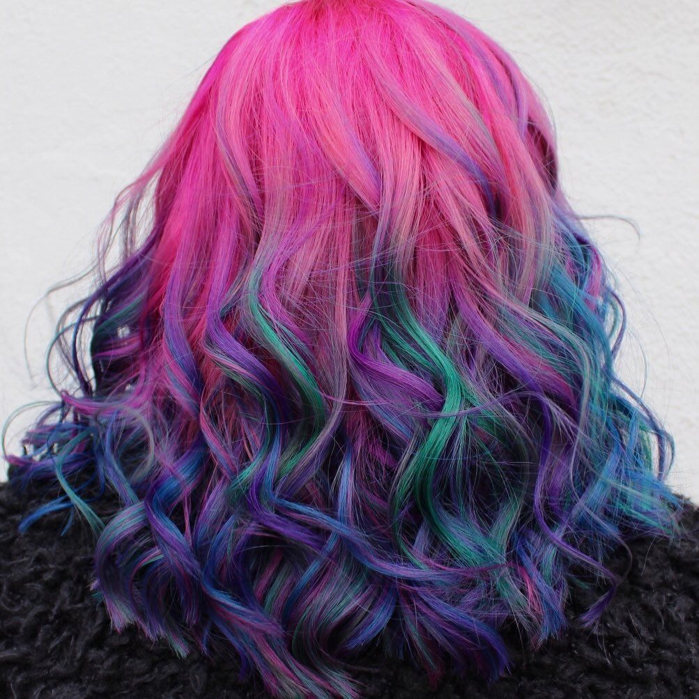 52 Ombre Rainbow Hair Colors To Try 2: OBSESSED With This Amazing Look By @seagreenehair Using