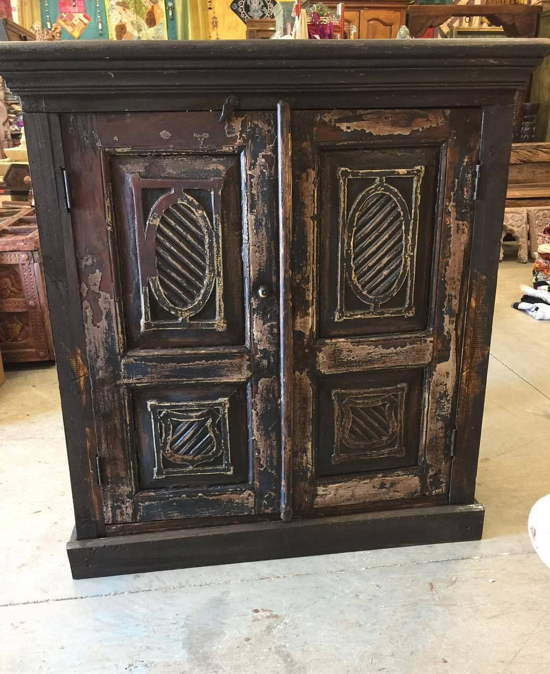 Marvelous Antique Sideboard Chest Furniture TV Console Cabinets Gothic Style Interior  | EBay Http://