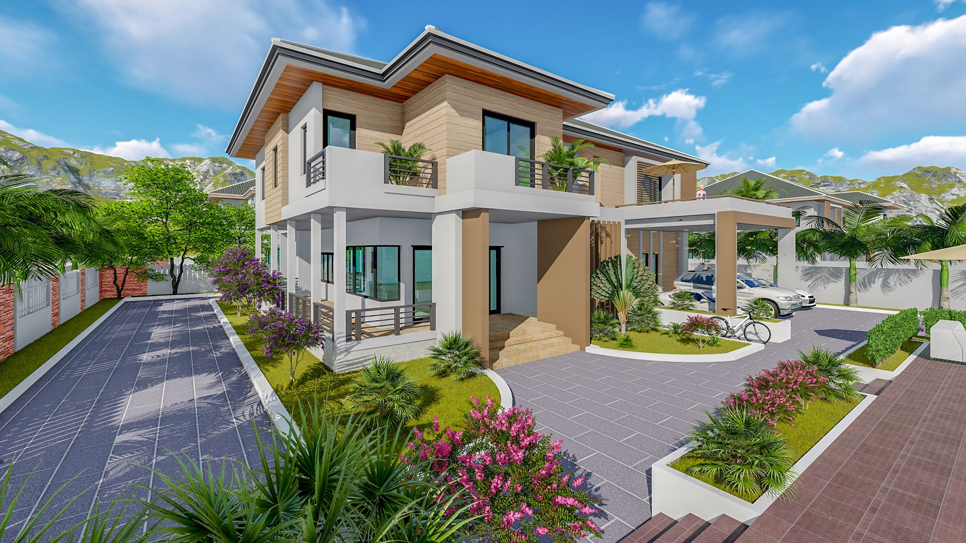 Pin On 3d Exterior Architecture Design