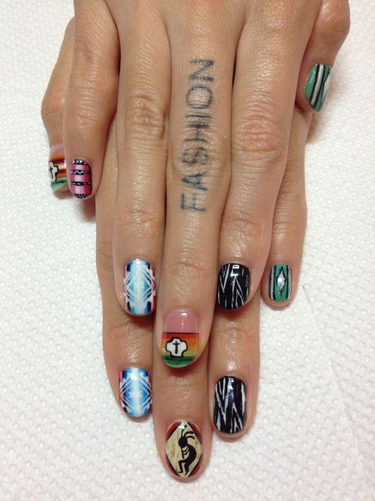 DISCO new nail♡ http://erikonakao-tokyo.tumblr http://www.disco ...