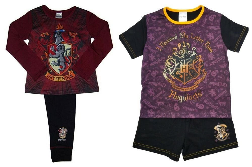 Harry Potter Pyjamas Girls Short and Long 5-6 Years 7-8 Years Bargain Reduced
