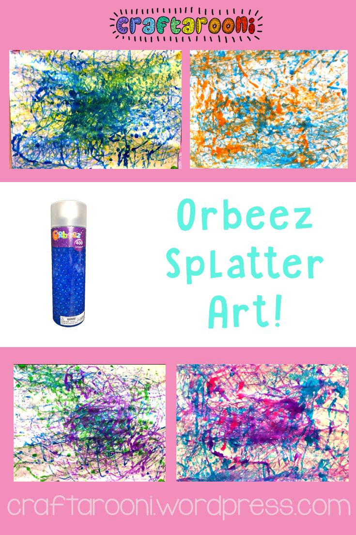 Orbeez Paintings Crafts Pinterest Craft Girl Scout Crafts
