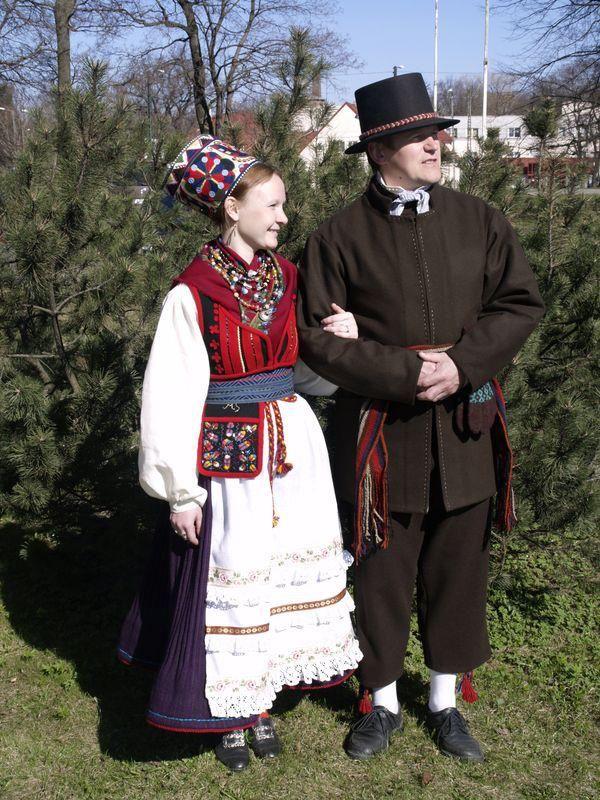 Traditionel Festlig Tøj Ikke-kirken, Parish, Island-2298