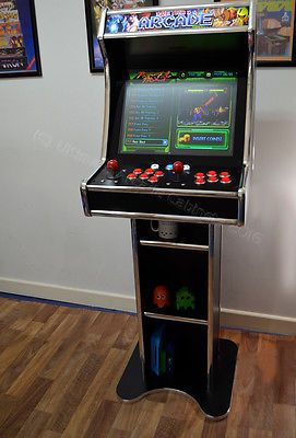 Amazing Bartop Arcade with stand plays hundreds of retro ...