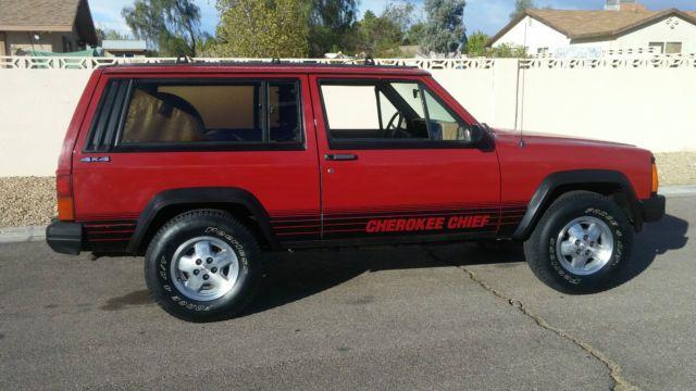 Rustfree Rare Amc Xj Cherokee Chief 2 Door 4x4 No Reserve Cherokee Chief Jeep Xj Cherokee
