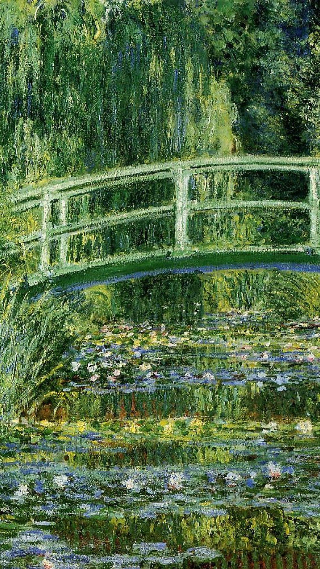 クロード モネ Water Lilies And Japanese Bridge Claude Monet