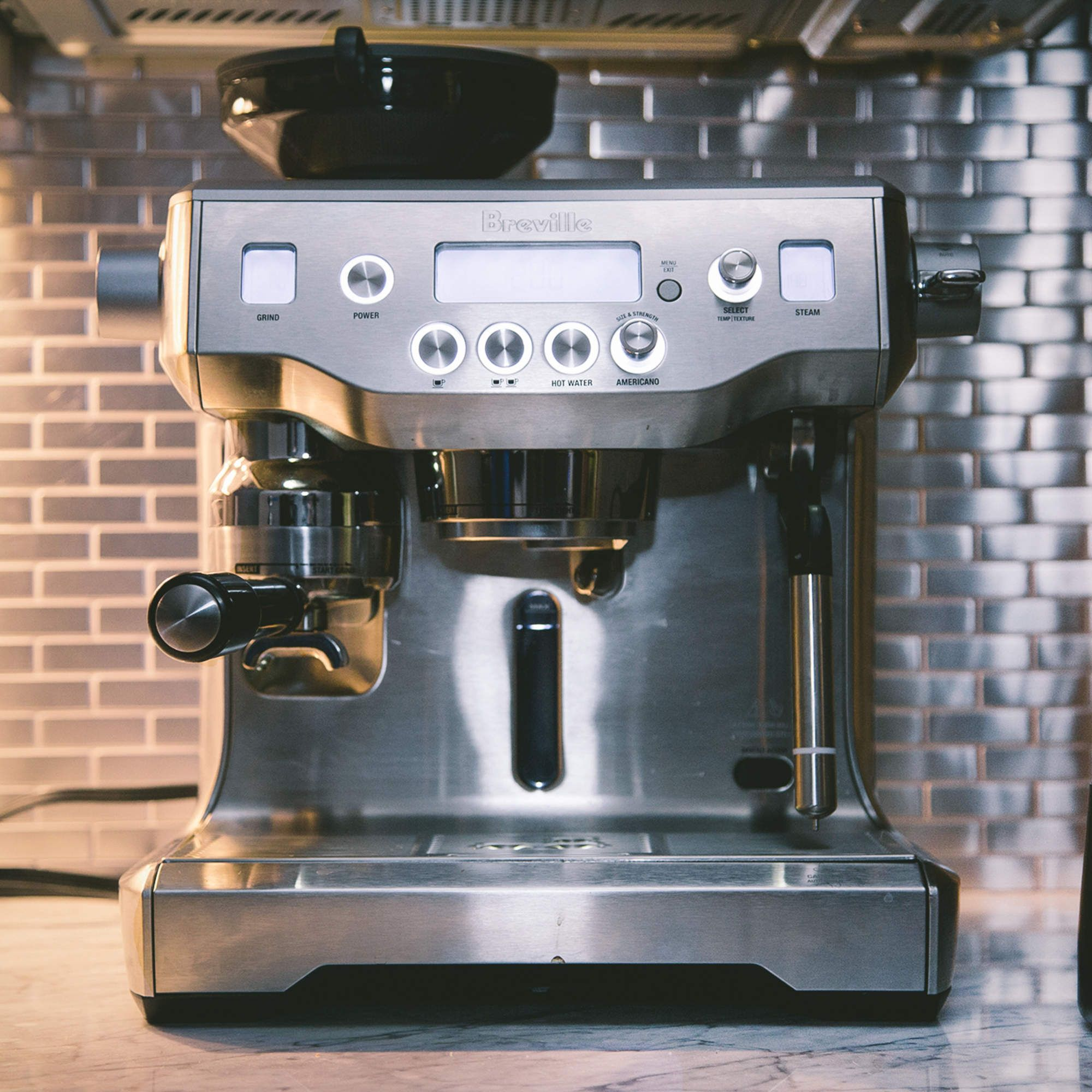 "The world's first automatic manual espresso machine ""So"