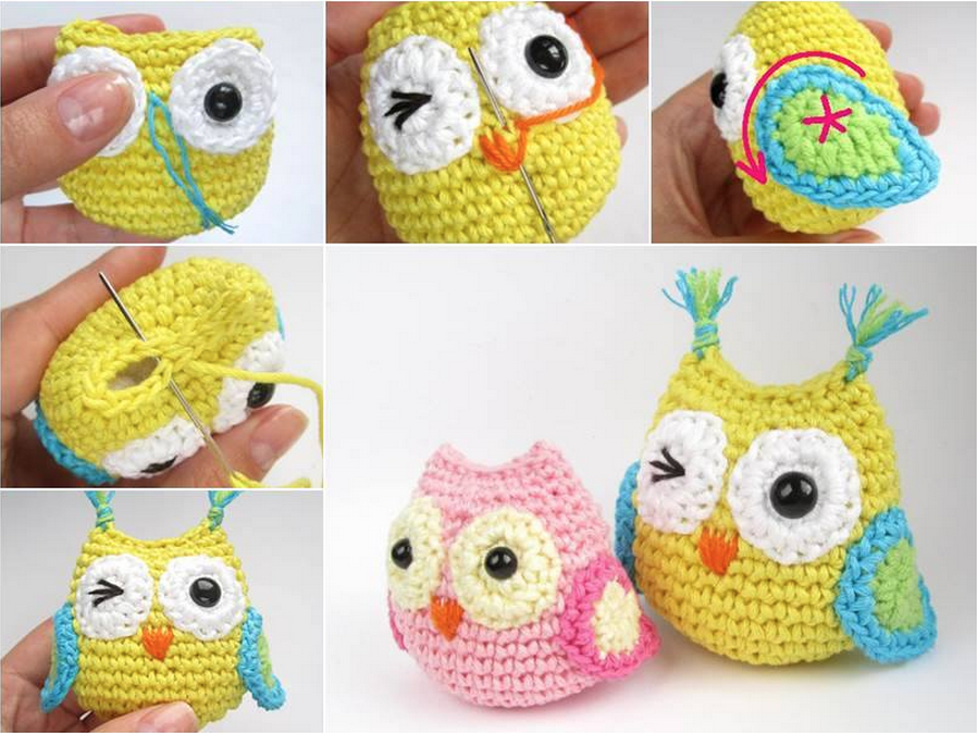 These Crochet Baby Owls are totally adorable!  You'll love making them from the FREE Pattern and tutorial which is super easy to follow. They're ideal for gifts too.  Click HERE for the FREE Pattern from 'Eng …