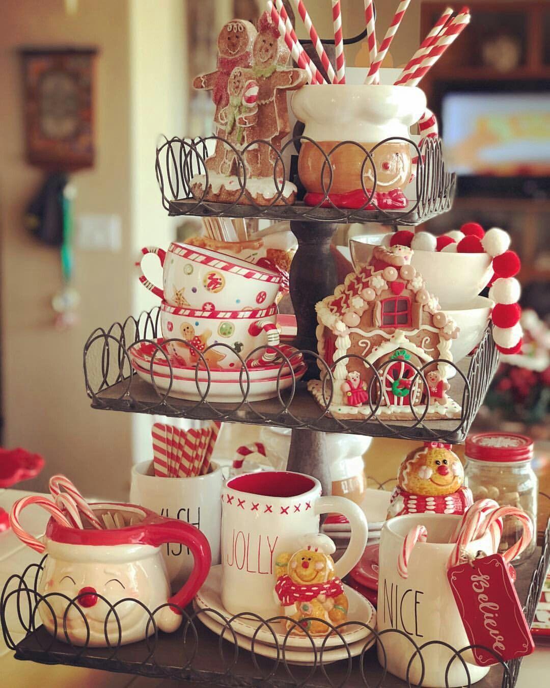 Christmas Kitchen Setup/Decor