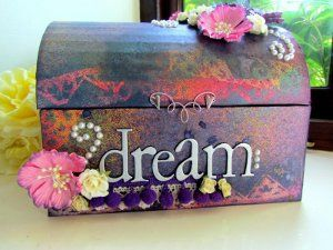 How To Decorate A Treasure Box Dream Treasure Chest  Treasure Chest Craft And Crafty