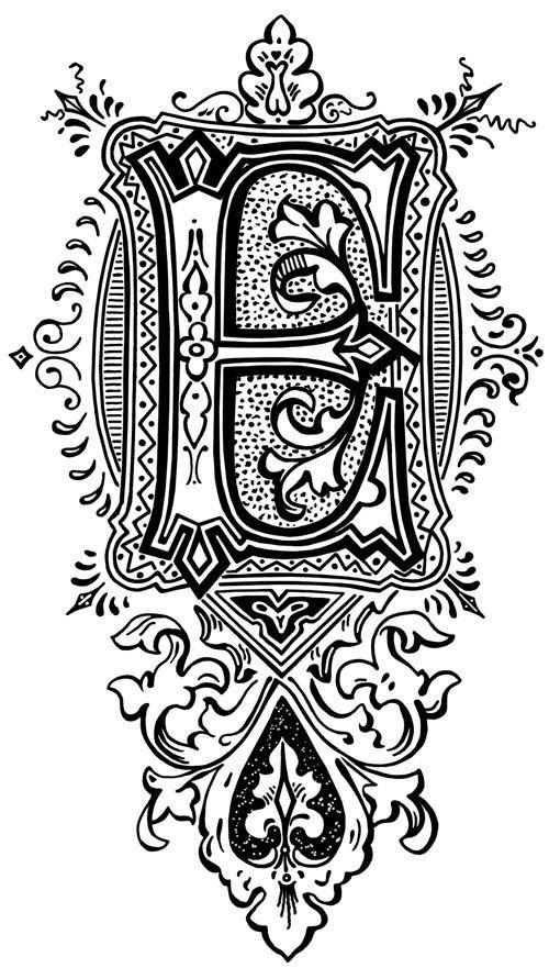 Printable Letters Karen S Whimsy Lettering Alphabet Fancy Letters Lettering Fonts