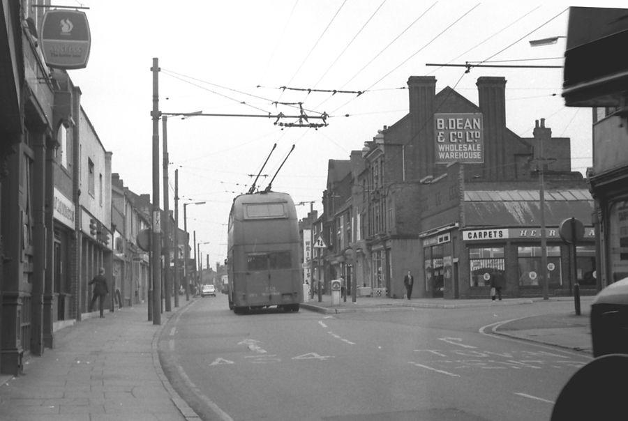 Walsall, last trolleybus 1970   Walsall, West midlands ...