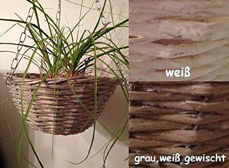 Blumenampel Hängeampel Blumenampel (Grau)   Pflanzkübel Selber Machen  Pflanzkübel Bepflanzen Frühling Pflanztrog Blumentrog Pflanzkübel Gestalten  U2026