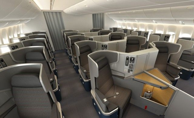 American airlines shows off new boeing er interior milesavvy also www rh co pinterest