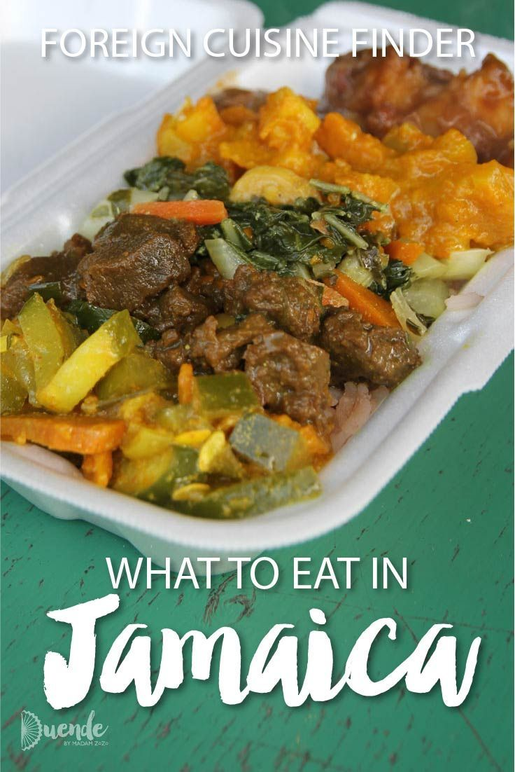 Foreign Cuisine Finder What to Eat in Jamaica Cuisine