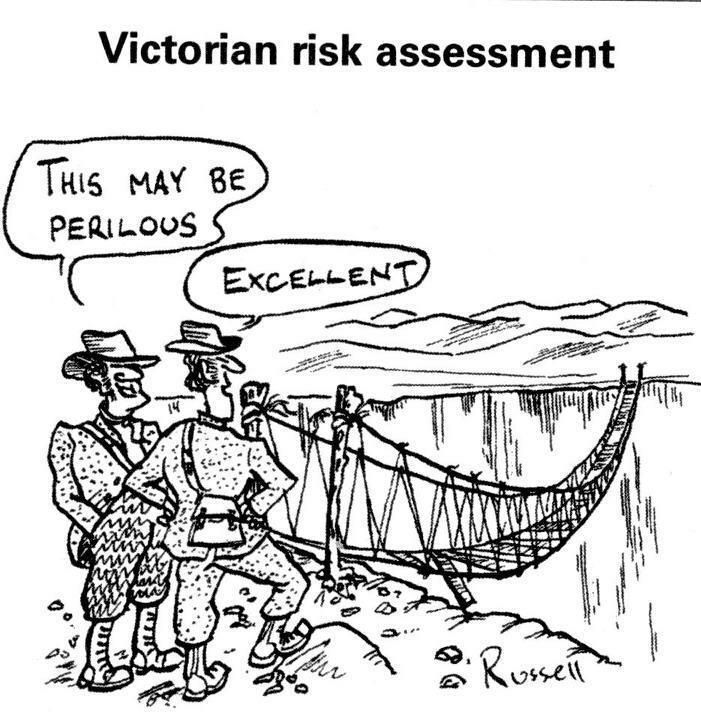 Victorian risk assessment Safety Pinterest - project risk assessment