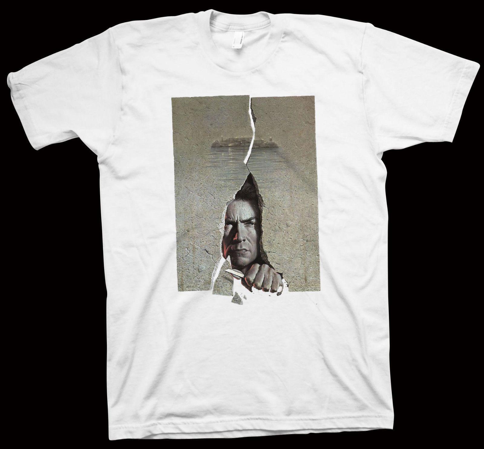 Details About Escape From Alcatraz T Shirt Don Siegel Clint