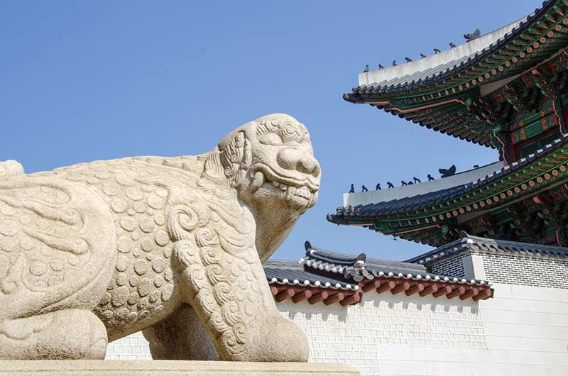 Resultado de imagen de lion gwanghamun