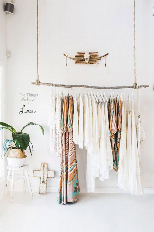 Decorar Con Ramas Secas Design Art Clothing Boutique Interior