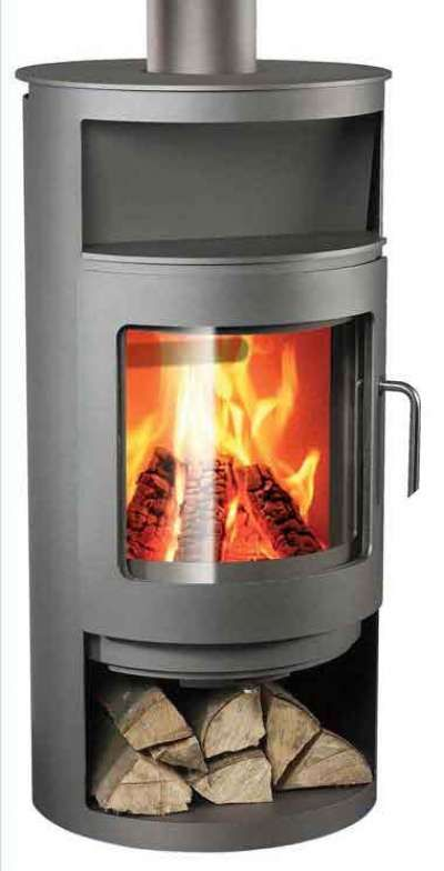 Rondo - designer wood stove by Rais of Denmark. Available with swivel base  for 360 - Rondo - Designer Wood Stove By Rais Of Denmark. Available With