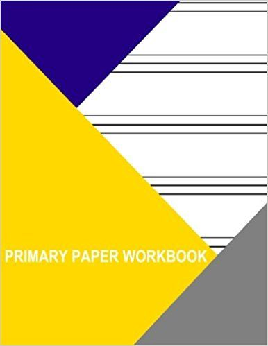 Primary Paper Workbook 6 Lines Per Page Thor Wisteria