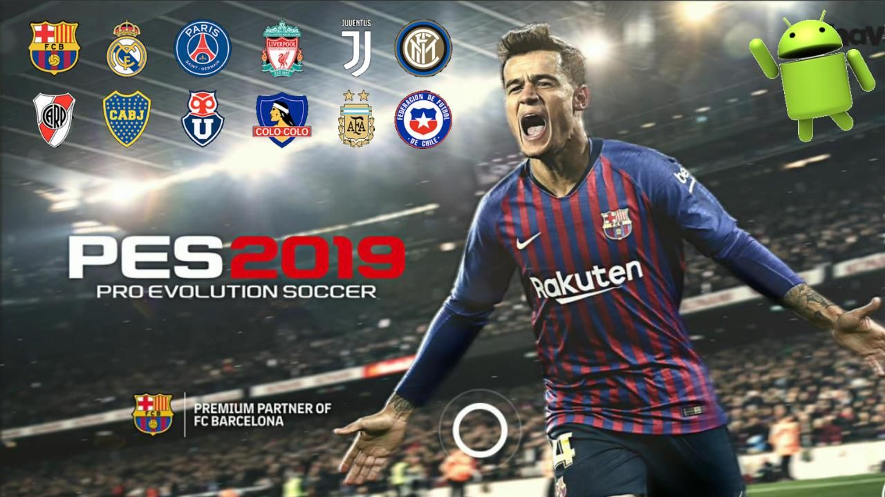 PES 2019 Patch Android Mobile Game Download | Cell Phone Games