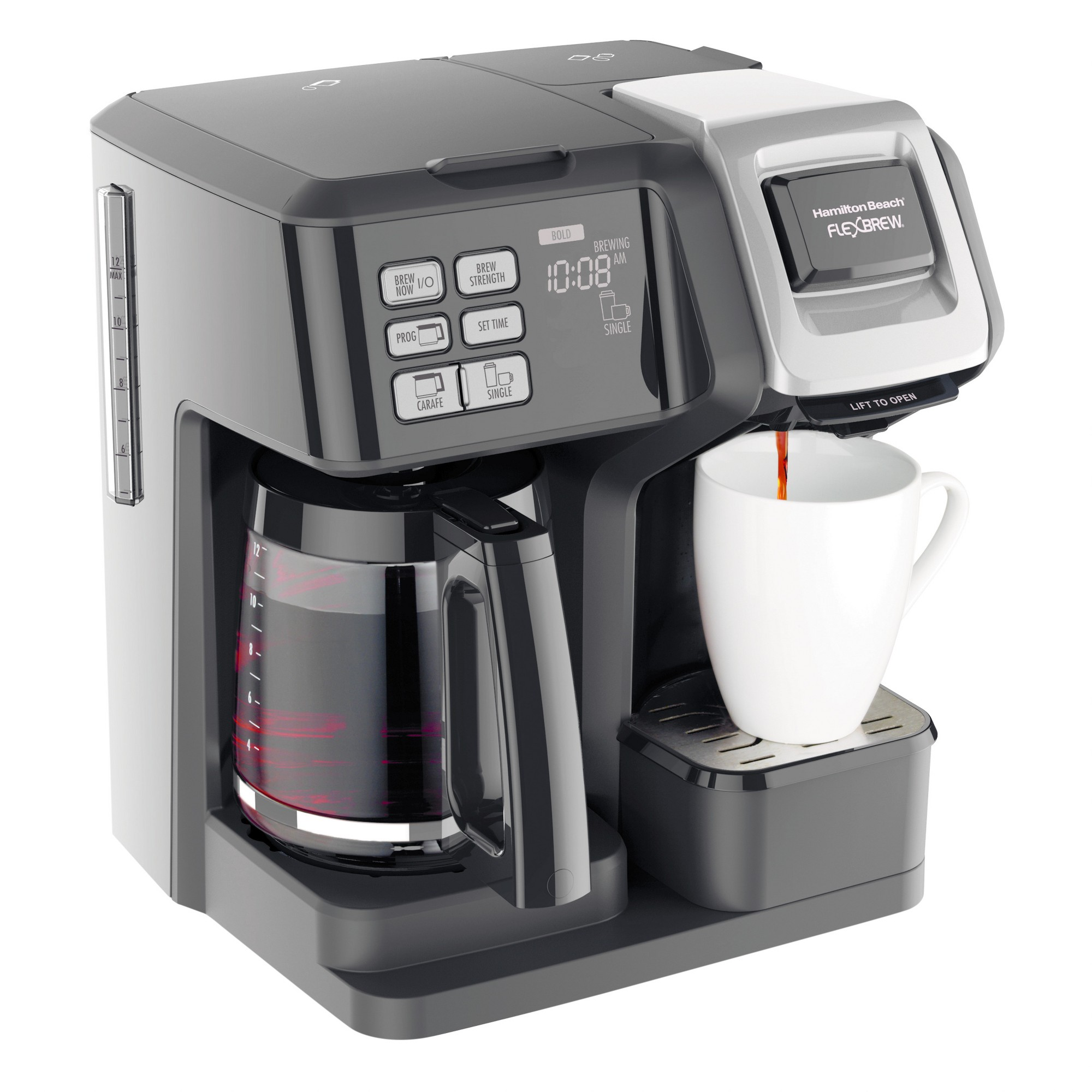 Mr. Coffee 4Cup Programmable Coffee Maker, Black, DRX5NP