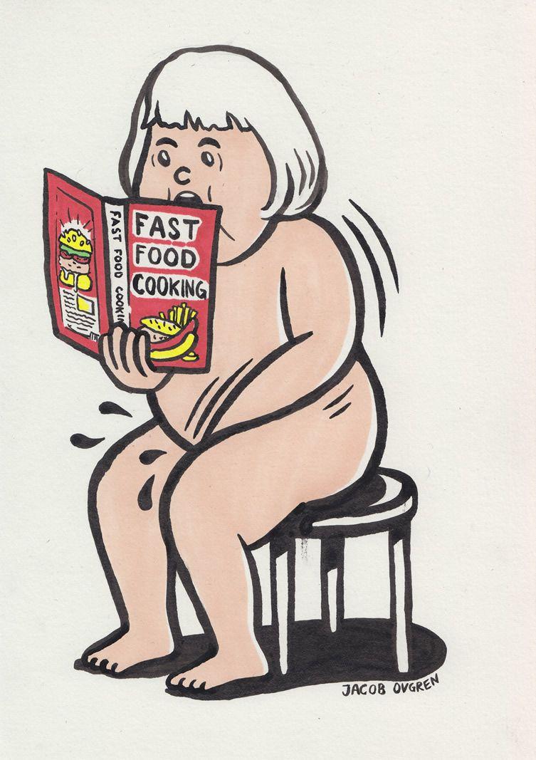 Sex cartoon illustration