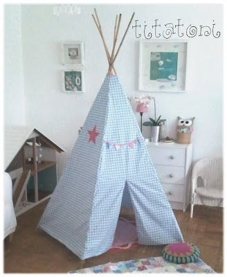 indianerzelt tipi indianer zelt n hen m dchen jungen kinder accessoires kram. Black Bedroom Furniture Sets. Home Design Ideas