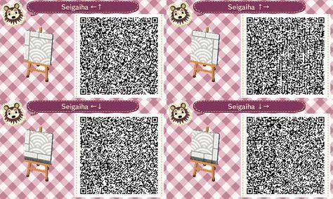 Seigaiha Paths 2 Acnl Paths Animal Crossing Qr Animal Crossing