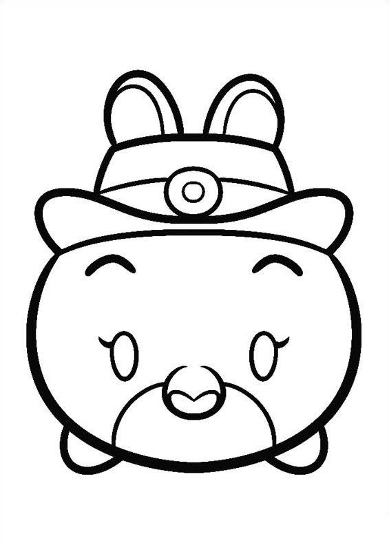 27 Coloring Pages Of Tsum Tsum Tsum Tsum Coloring Pages