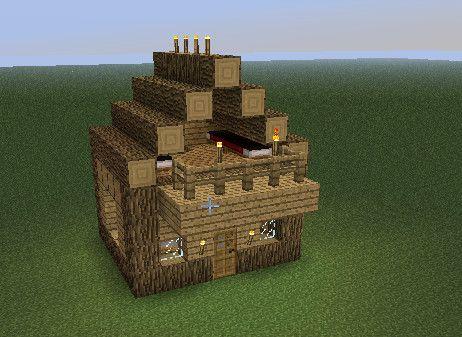 simple minecraft village house Minecraft Pinterest Village