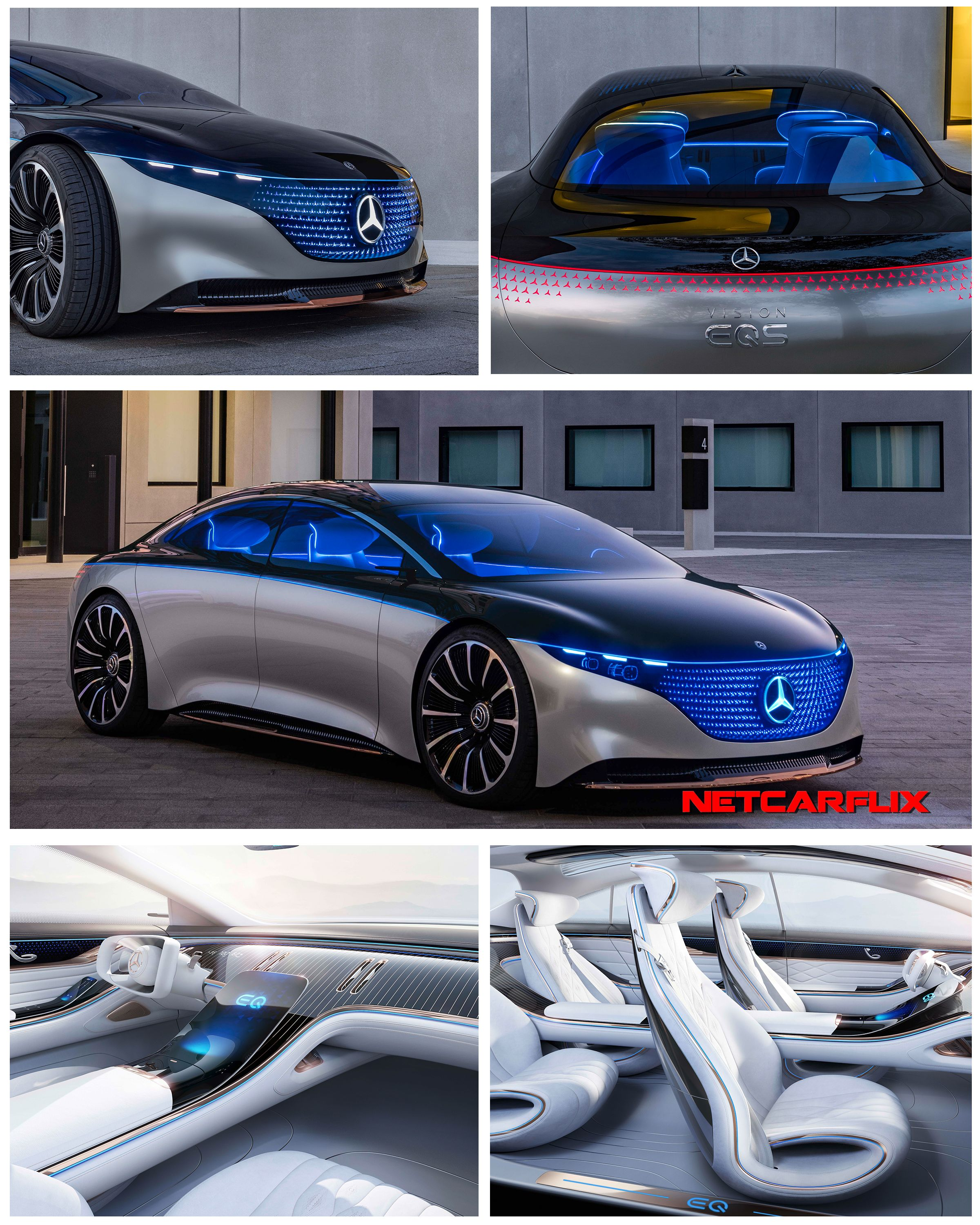 Photo of 2019 Mercedes-Benz Vision EQS Concept | DailyRevs.com