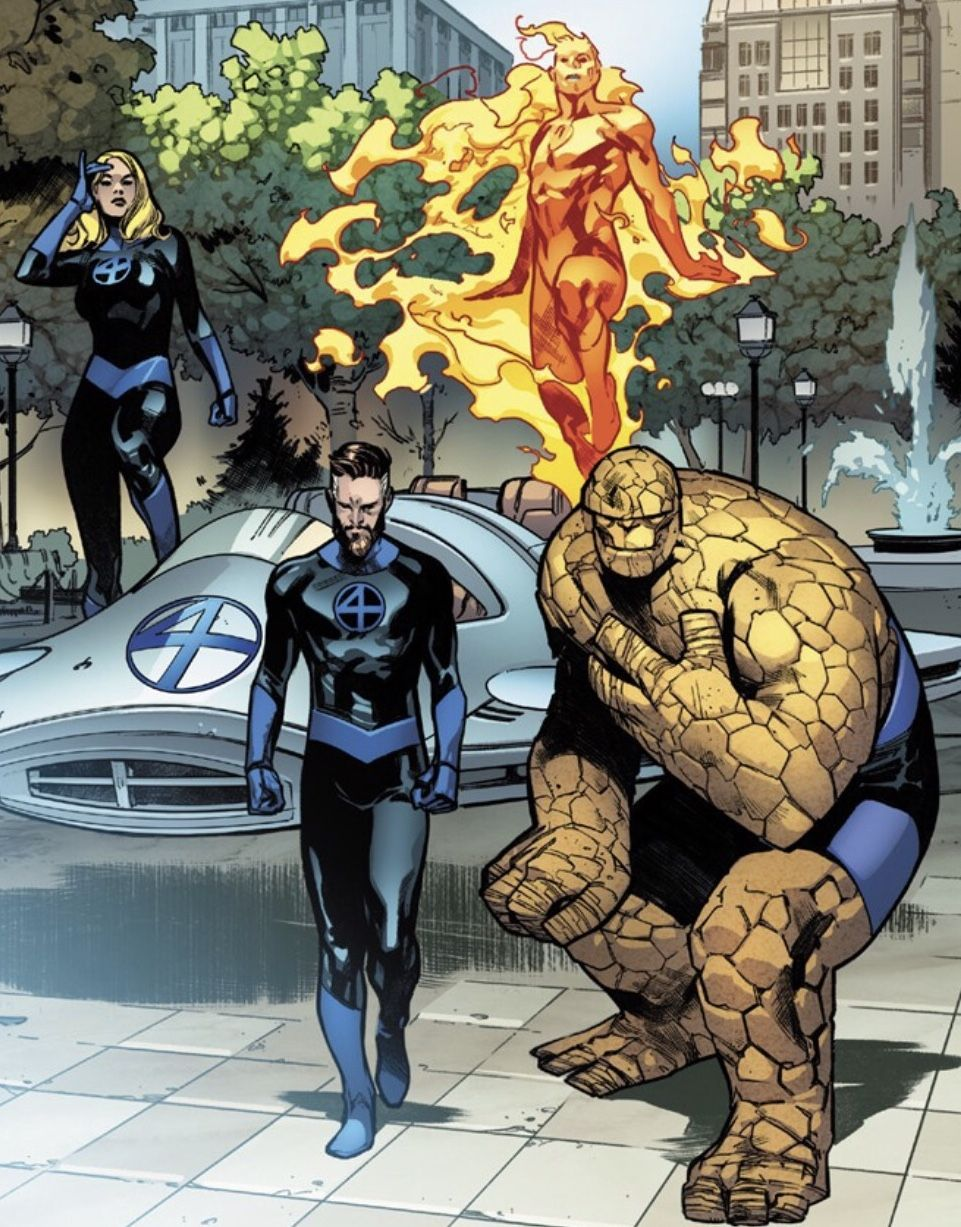 Fantastic Four In 2020 Marvel Comics Wallpaper Fantastic Four Marvel Comics Funny