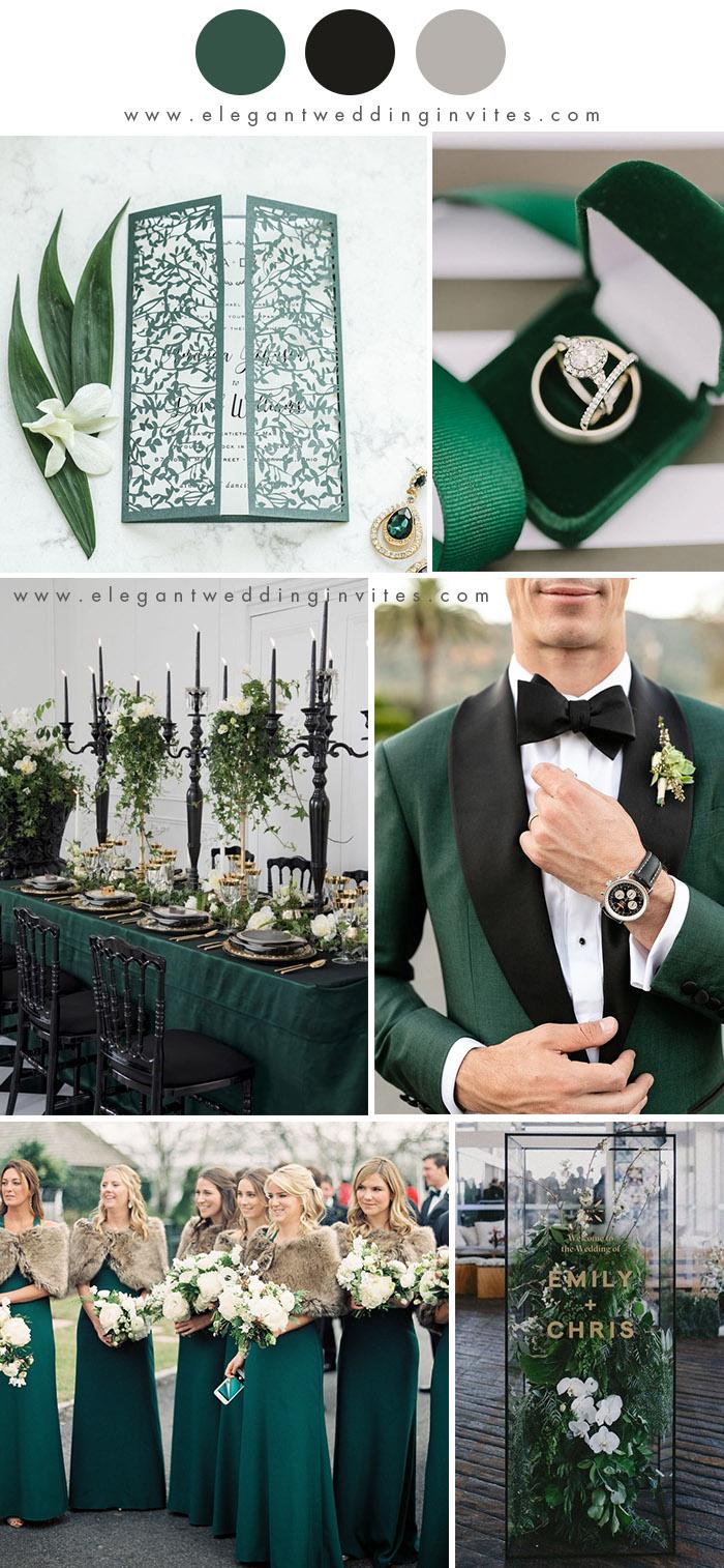 10 Best Winter Wedding Color Palettes for 2019 & 2020 ...