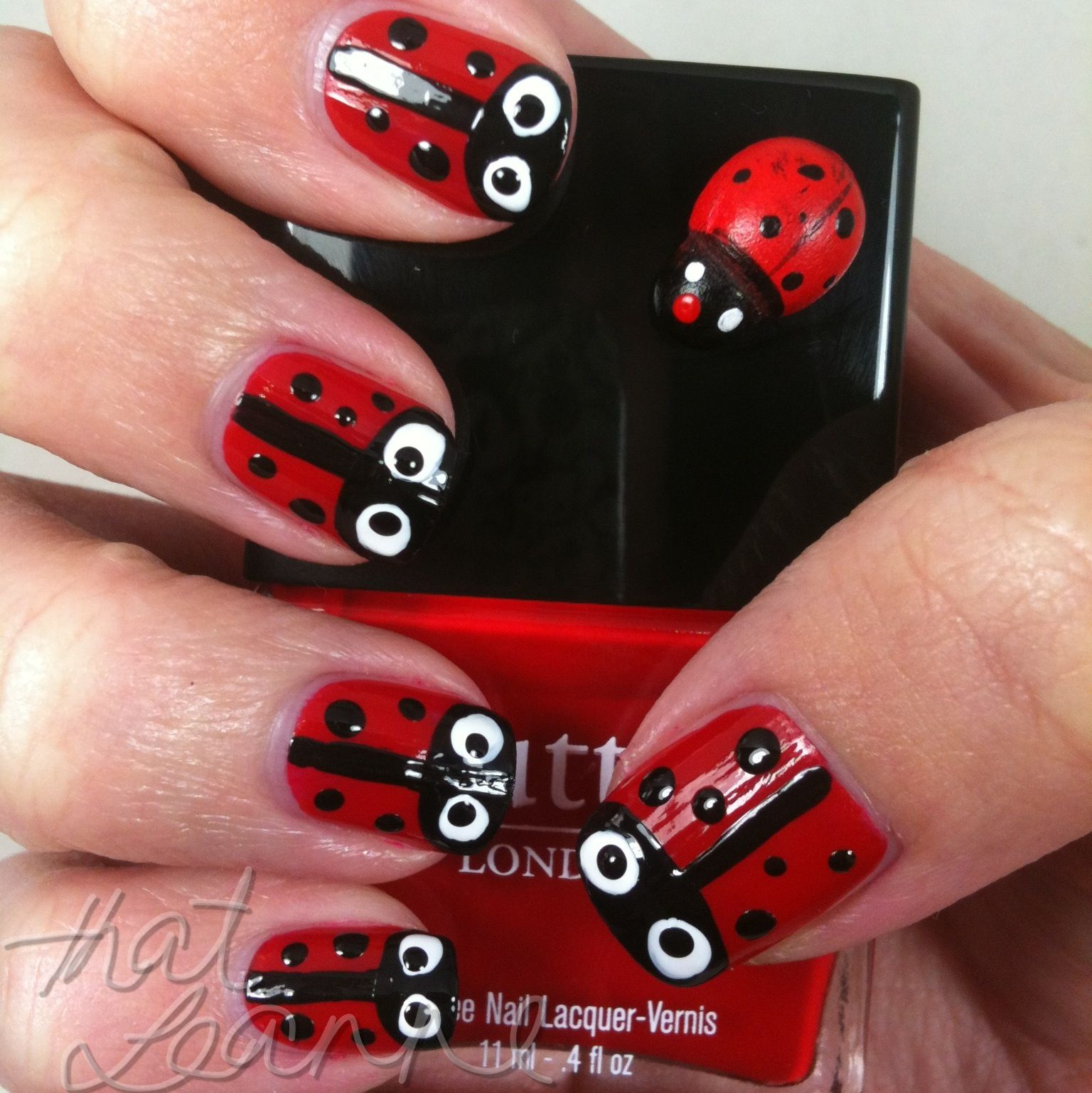 Easy to Do Nail Designs | little design that s super easy to do lady ...