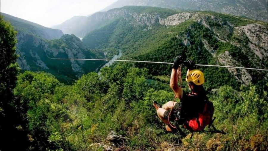 Spring In Croatia What To Do In Croatia In April May Chasing The Donkey Ziplining Zipline Adventure Croatia Holiday