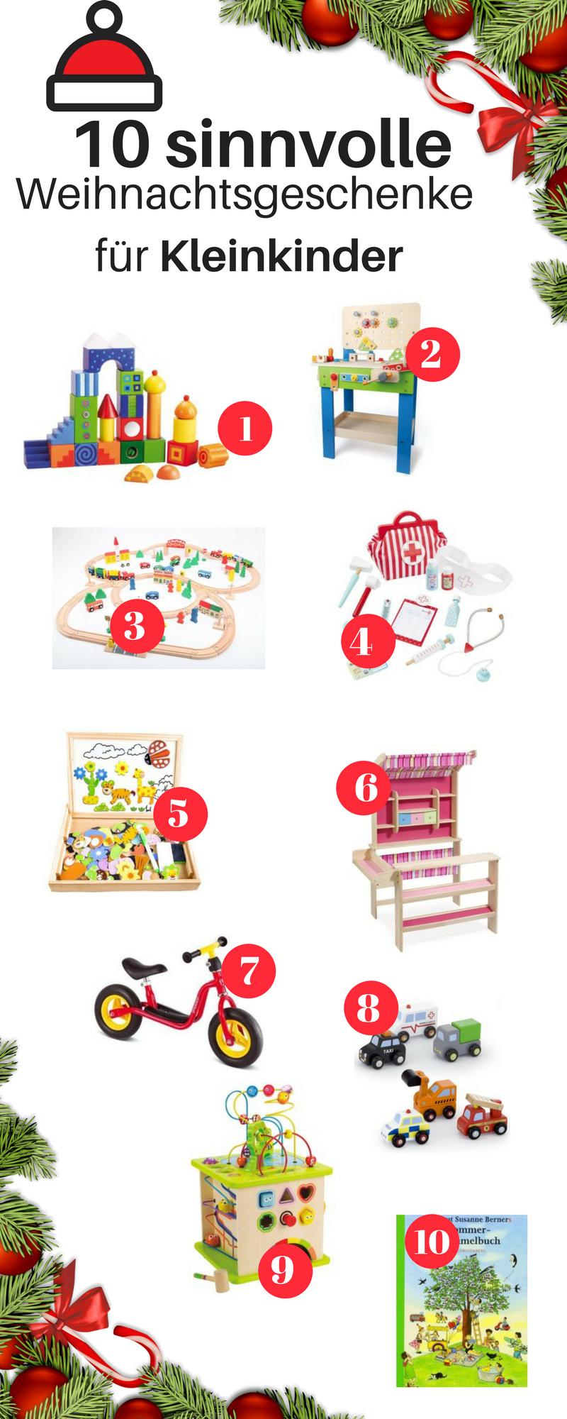 Weihnachtsgeschenke für Kleinkinder | Alltag mit Baby | Pinterest ...