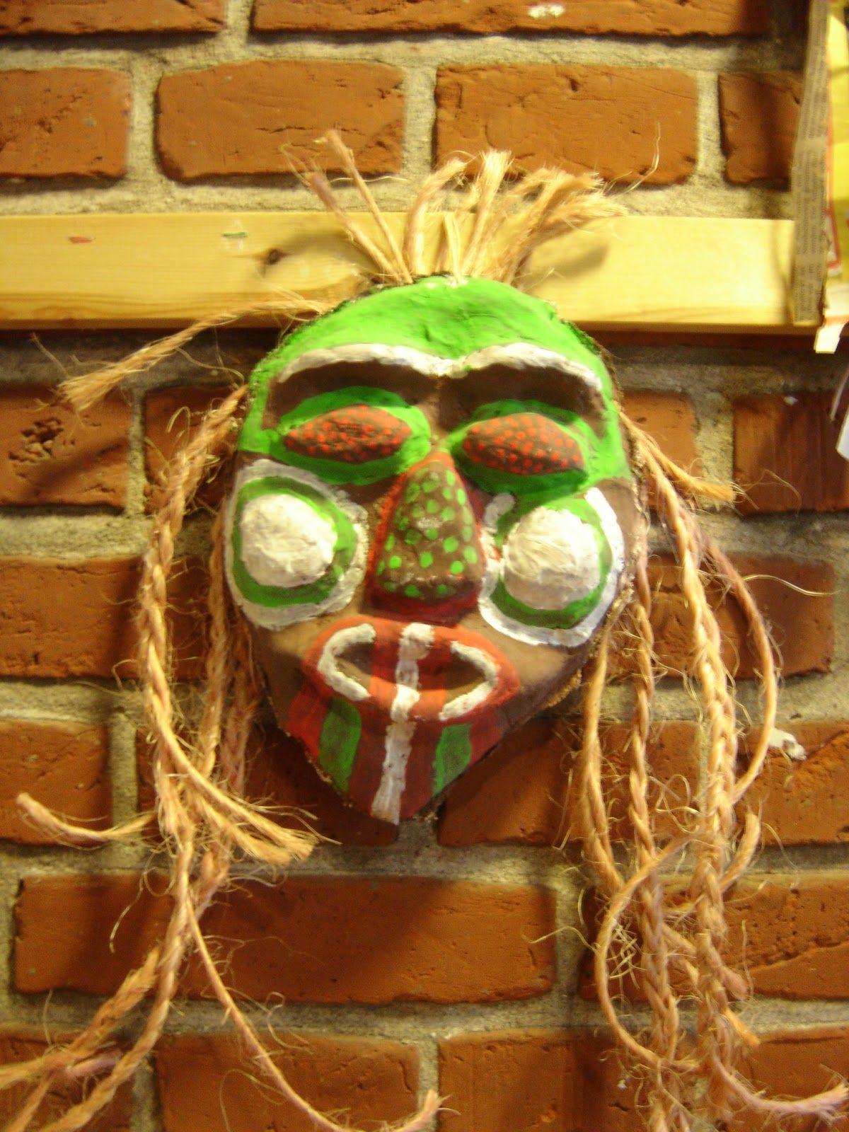Meet The Creative Part of Me : Afrikanske masker