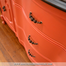 Addicted To Decorating Blog Buffet Makeover Painted With Behr