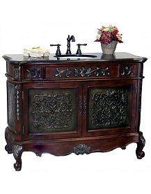 gothic bath vanity