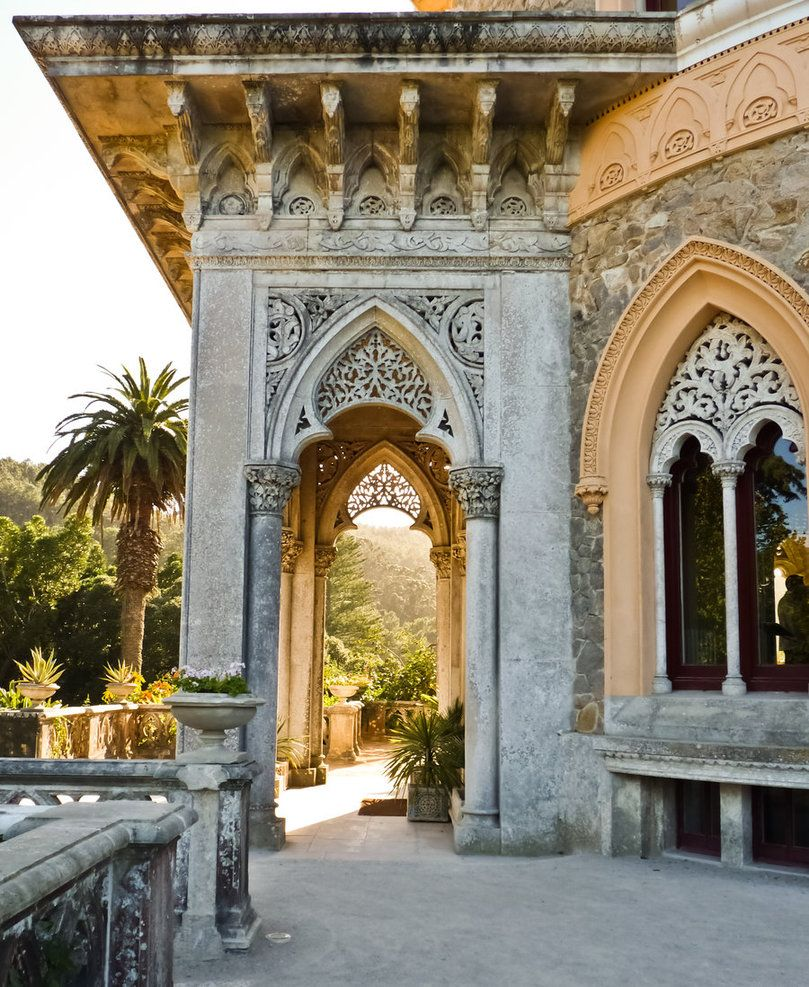 """Monserrate Palace another location when we were filming """"Gulliver's Travels"""".  Amazingly beautiful..."""