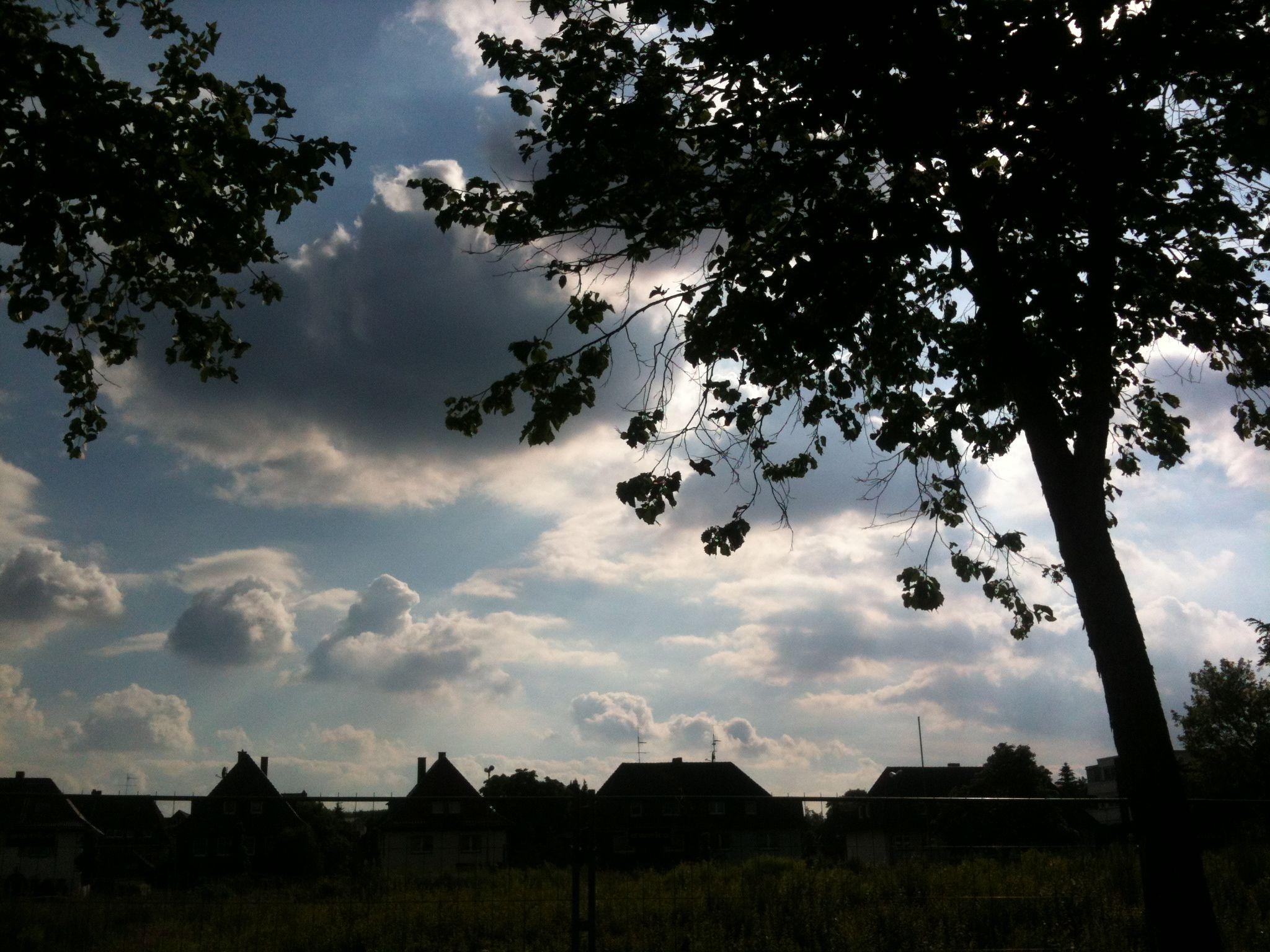 Wolke über all