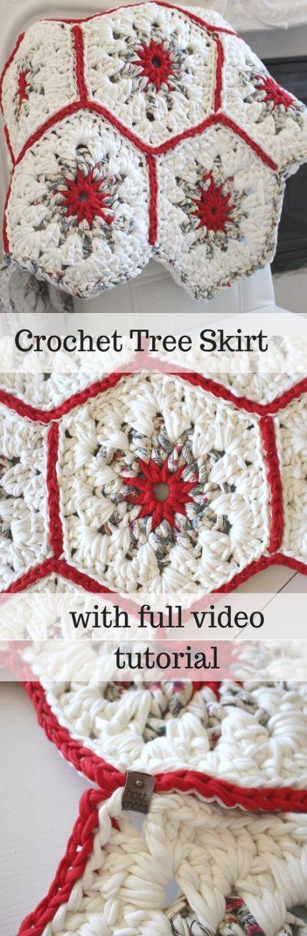Christmas Tree Skirt Money 53+ Ideas #crochetformoney