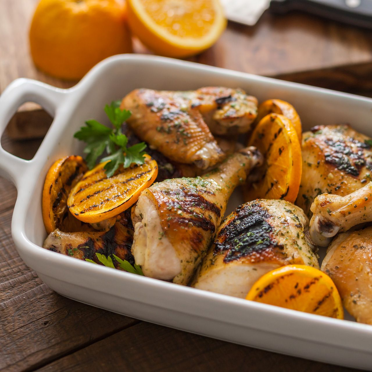 Hidden Valley Ranch Grilled Chicken Orange Dijon Marinade Recipe | Hidden Valley®