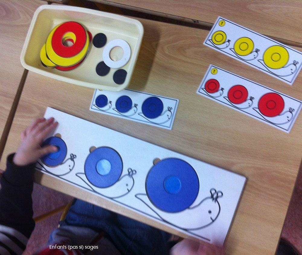 jeux escargot2 escargot pinterest montessori math and kindergarten. Black Bedroom Furniture Sets. Home Design Ideas