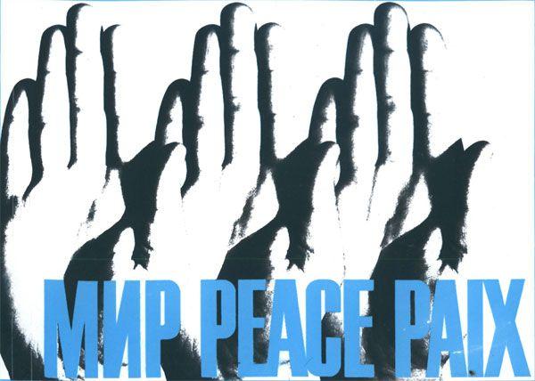 Soviet Anti-War Posters / Paix
