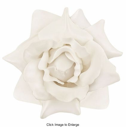 25 white rose hair clip for 699